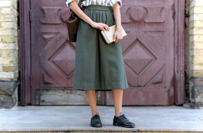 Praktisk nederdel
